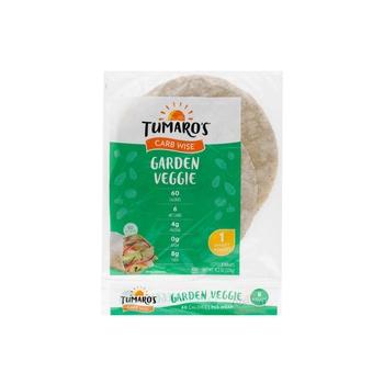Tumaros Grdn Veggie Low Carb Wrap 1.2 Oz