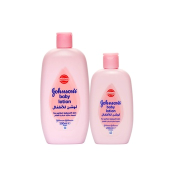 Johnson's baby soft lotion 500ml + 200ml