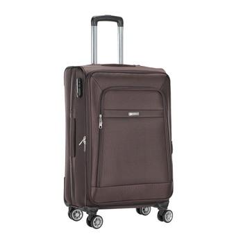 Voyager Trolley Bag  Brown - 24 inch