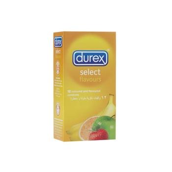 Durex Select / Flavours Condom 12's