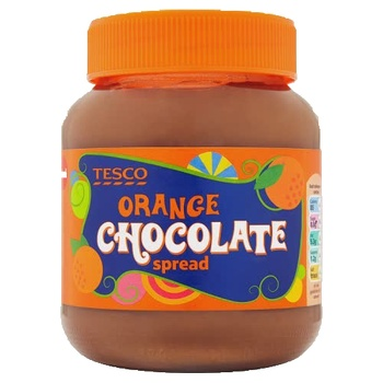 Tesco Orange Chocolate Spread 400g
