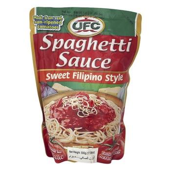 UFC Spaghetti Sauce Filipino Style 500g