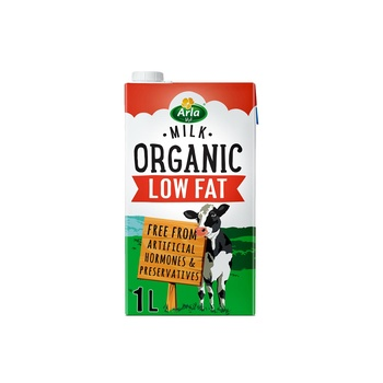 Arla Organic Low Fat Milk 1 ltr
