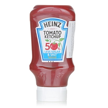 Heinz Tomato Ketchup 50% Less Sugar & 25% Less Salt