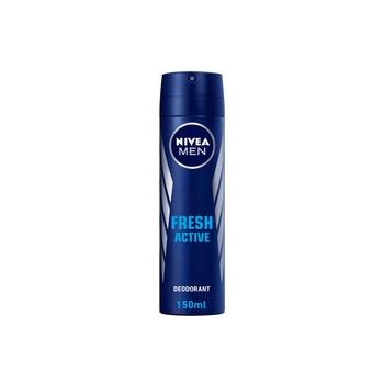 Nivea Men Fresh Active Deodorant Spray 150ml