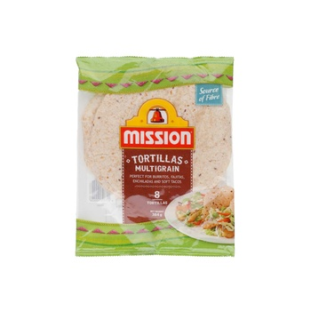 Mission Tortillas Multigrain 8s 384g