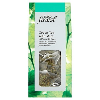 Tesco Finest Green Tea & Mint 40g