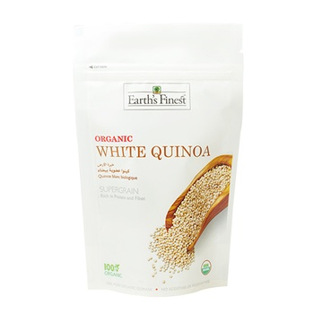 Earth`s Finest Organic White Quinoa 340g