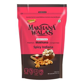 Makhanawala Roasted Makhana Spicy Indiana 80g
