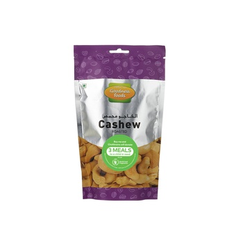 Goodness Foods Cashew Roasted & Salted Sp 175g