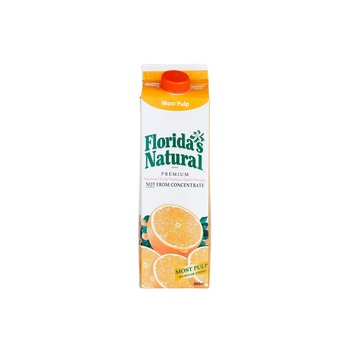 Floridas Natural Orange Juice Pulp 900ml