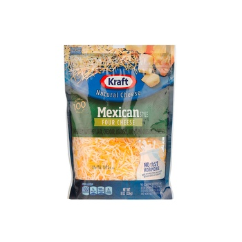 Kraft Finely Shredded Mexican 4 Cheese
