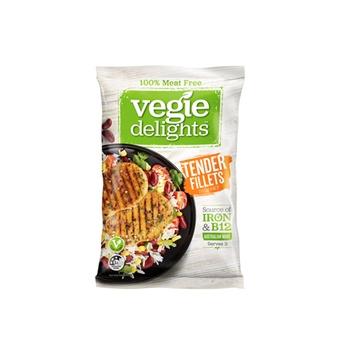 Vegie Delights Tender Fillets Meat Free 250g