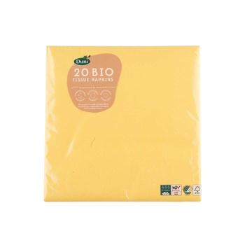 Duni Napkin Brilliant Yellow 20s