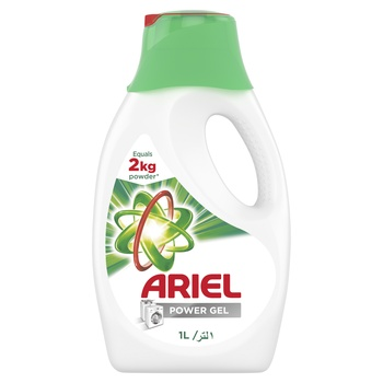 Ariel Automatic Power Gel Laundry Detergent Original Scent 1ltr