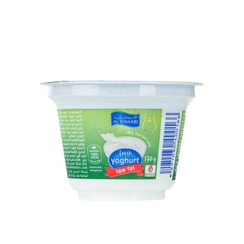 Al Rawabi Yoghurt Low Fat 170g