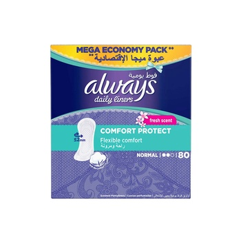 Always Comfort and Protection Liner Fresh 80 pcs