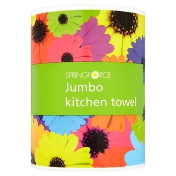 Tesco Springforce Jumbo Kitchen Towel
