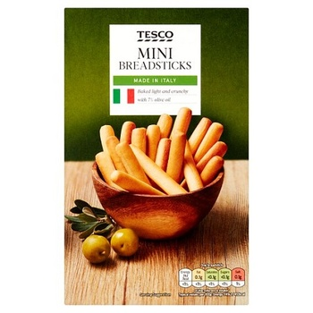 Tesco Originl Mini Bread Stick 100g