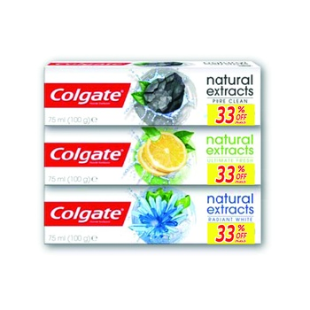 Colgate Toothpaste Naturals Lemon 75 ml @ 33% Off