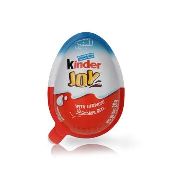 Kinder Joy Chocolate For Boys 20g