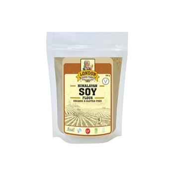 London Superfoods Organic Soy Flour Gluten Free 300g