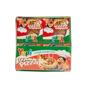 Yupi Gummi Pizza 36x25.5gs