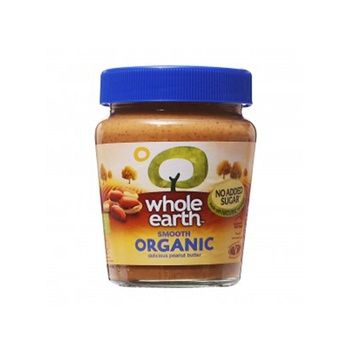 Whole Earth Peanut Butter Organic Smooth  227g