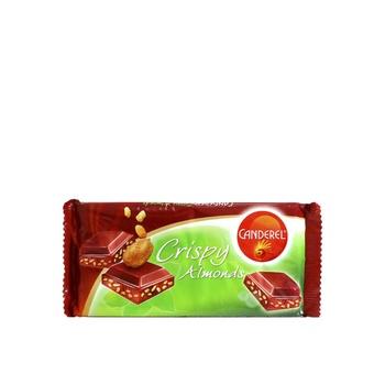 Canderel Crispy Almonds Bar 85g