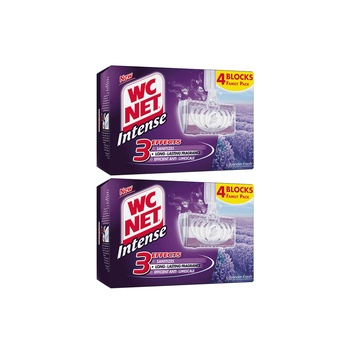 Wc Net Intense Solid Rim Blocks Lavender 4pcs Pack Of 2