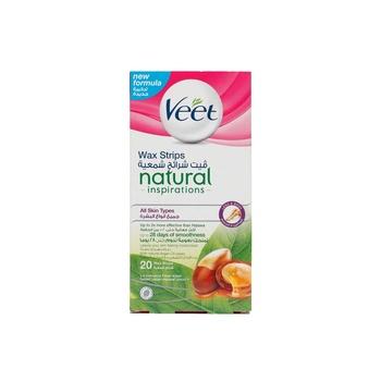 Veet Natural Wax Strips - 20s