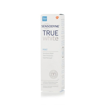 Sensodyne True White Mint Tooth Paste 75ml