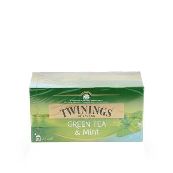 Twinings Green Tea & Mint 25 Pcs