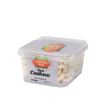 Goodness Foods Cashew nuts 240 - 400g