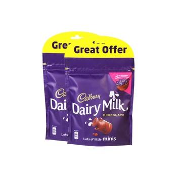 Cadbury Dairy Milk Doy Bag 2 X 192g