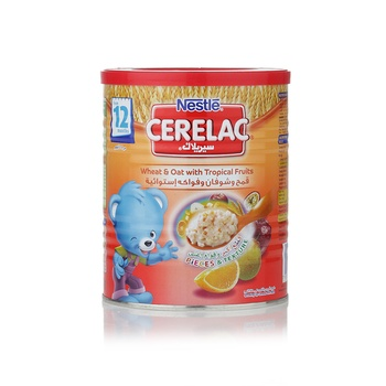 Cerelac Wheat & Oat With Tropical Fruit 400g
