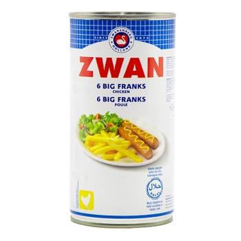Zwan 6 Big Franks (Chicken) 560g