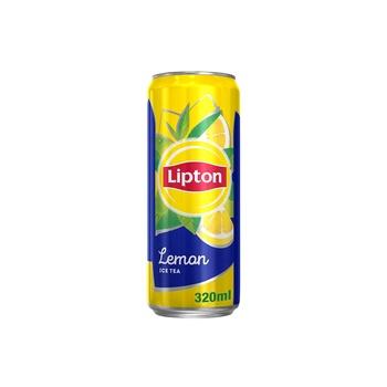 Lipton Lemon Ice Tea, Non-Carbonated Refreshing Drink,320mlx6