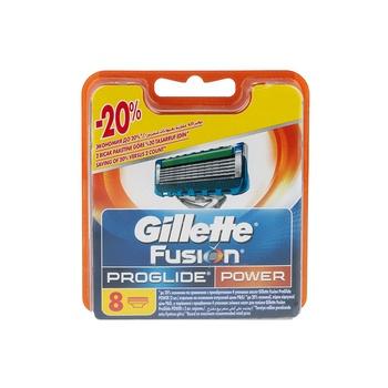 Gillette Fusion Proglide Power Cartridges 1 X 8pcs