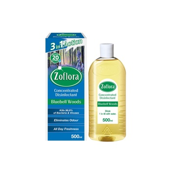 Zoflora Multipurpose Concentrated Disinfectant Bluebell Woods 500ml