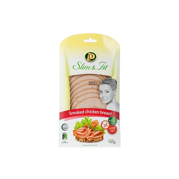Perutnina Smked Chicken Breast Slice 100g