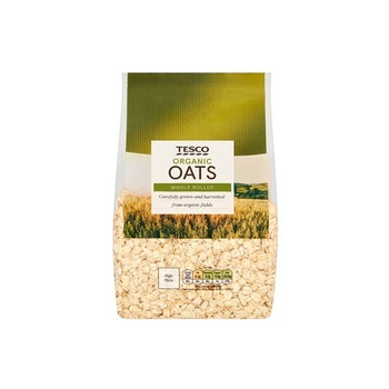 Tesco Organic Porridge Oats 750g