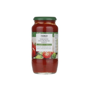 Tesco Bolognese Pasta Sauce Smooth 500g