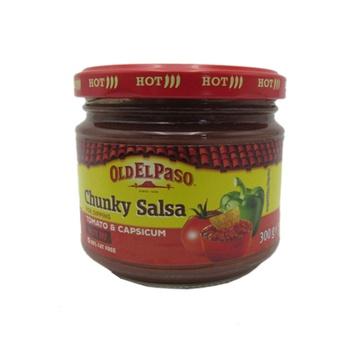 Old El Paso Chunky Salsa - Hot 300g