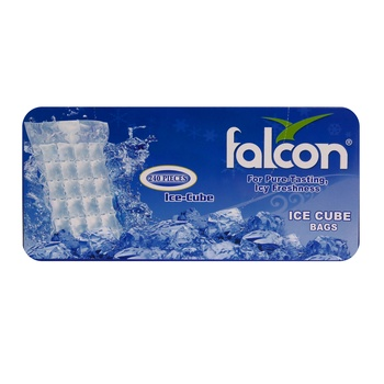 Falcon Ice Cube Bags 40 pcs