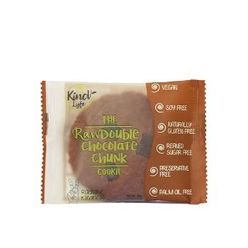 Kind Lyfe Raw Double Chocolate Chunkie Cookie 35g