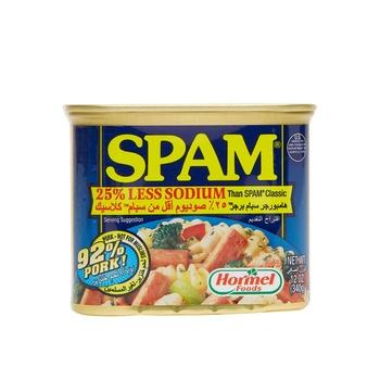 Hormel Spam 30% Less Sodium Pork  340g