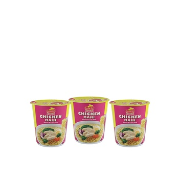 Lucky Me Chicken Cups Noodles 3X70g
