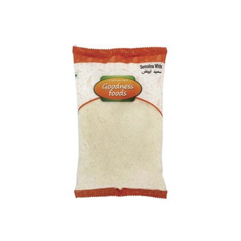 Goodness Foods Semolina White 1kg