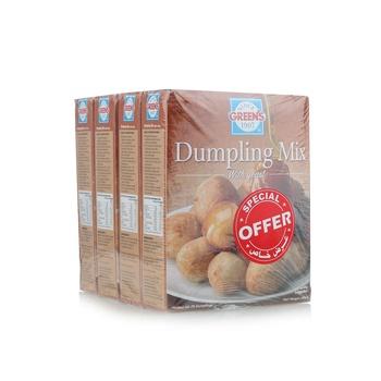 Green Dumpling Mix 4 x 500g